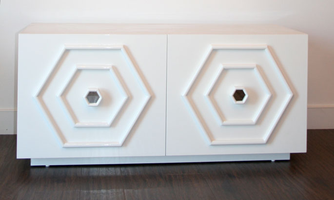 South Beach 2 Door Credenza