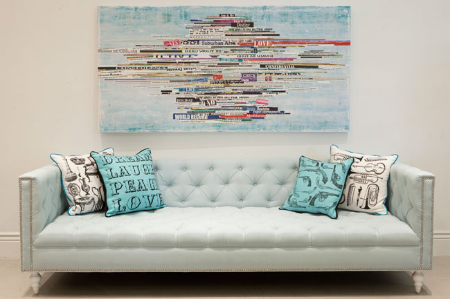 Hollywood Modern Sofa