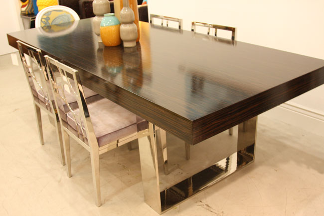 Modern Dining Tables modern dining tables for every occasion - modshop style blog