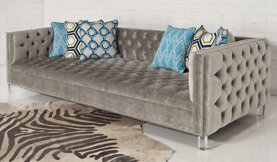Turquoise Tufted Sofa Home Design Ideas And Pictures