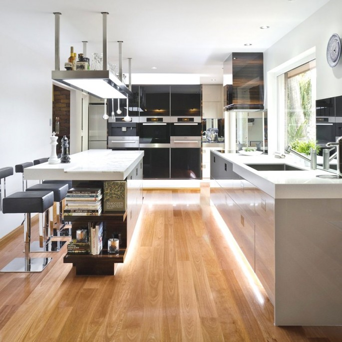 contemporary australian kitchen design - modshop style blog