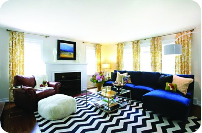 Looking For A Fresh Way To Incorporate This Zigzagging Trend Into The Mix?  Dining Chairs Upholstered In A Chevron Pattern Add A Bold And Unexpected  Twist.