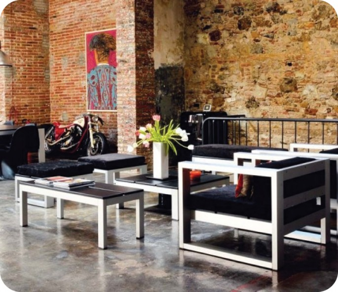 Modern Industrial Furniture industrial modern - modshop style blog