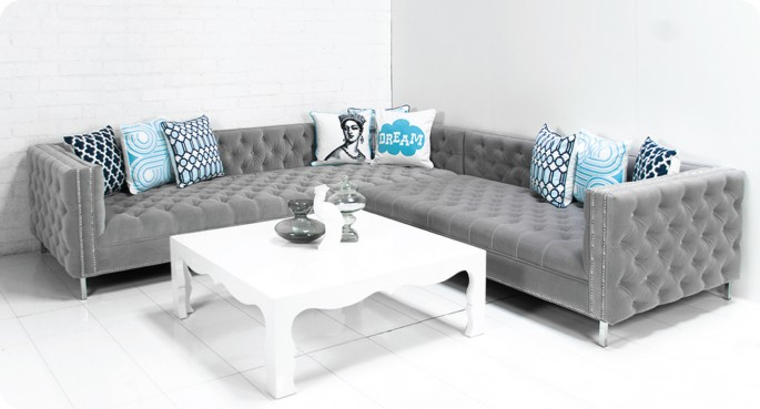 S Club Sofa In Oatmeal