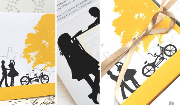 white-yellow-black-silhouette-wedding-invitations-logo04