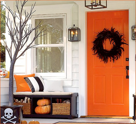 Modern Halloween Decor modern halloween decor - modshop style blog