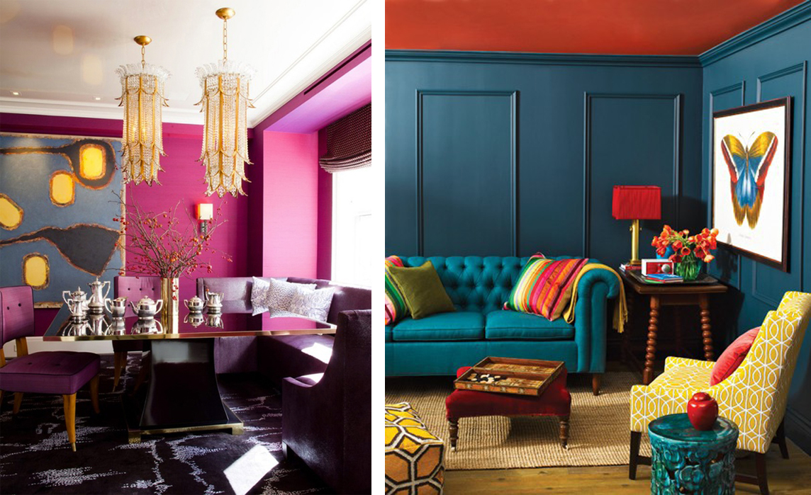 Heres What We Found Inspiring And How You Could Incorporate ModShop By RoomService Pieces Into Your Jewel Toned Dream Space
