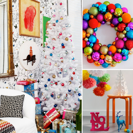 Decoration Ideas: Christmas Decor: Colorful Vs. Neutral Glam. Which Are You