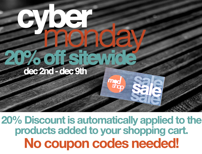 Cyber Monday at ModShop