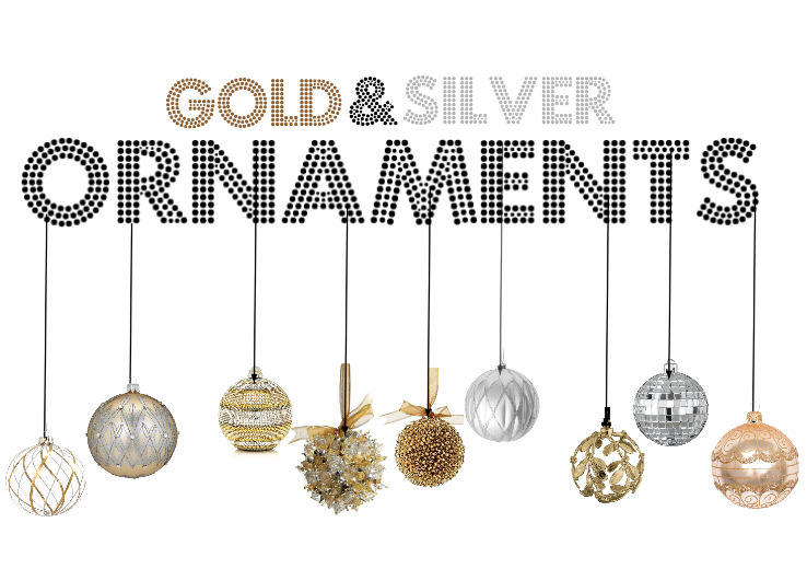 Silver Christmas Ornaments Png 18518 | DFILES