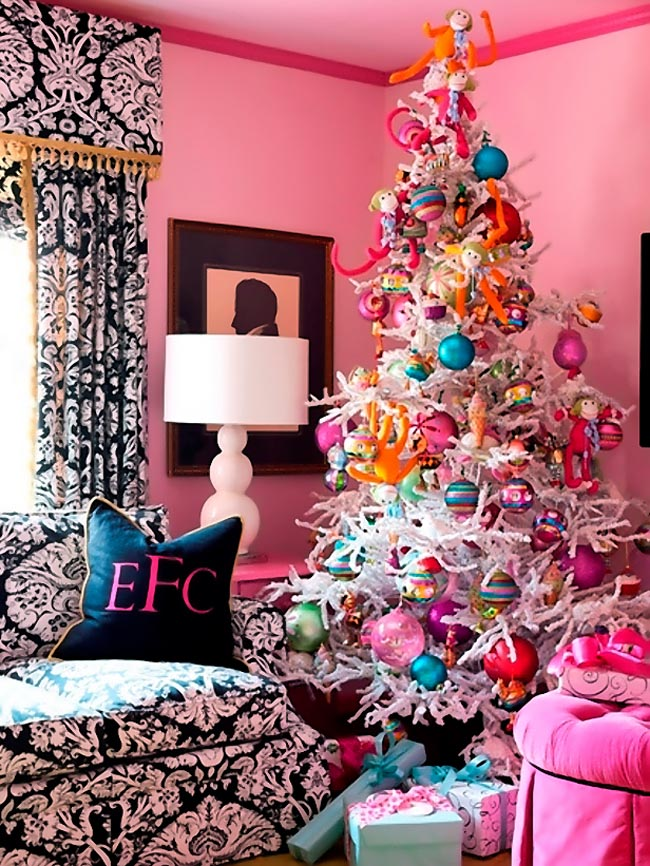 Christmas decor colorful vs neutral glam which are you for Fun blog ideas
